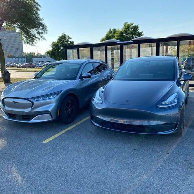 Tesla Model Y vs. Mach-E