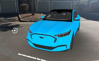 Mach-E in Augmented Reality