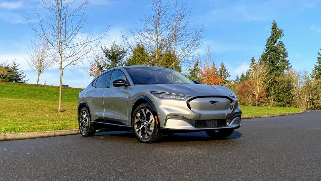 First drive review: Mustang Mach-E electric SUV redefines the pony car