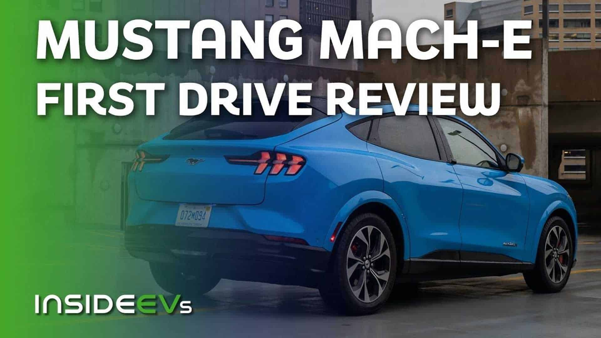 Mustang Mach-E First Drive Review: Deserving Of The Name?