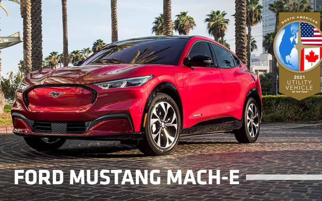 Mustang Mach-E Earns North American Utility of the Year Honor