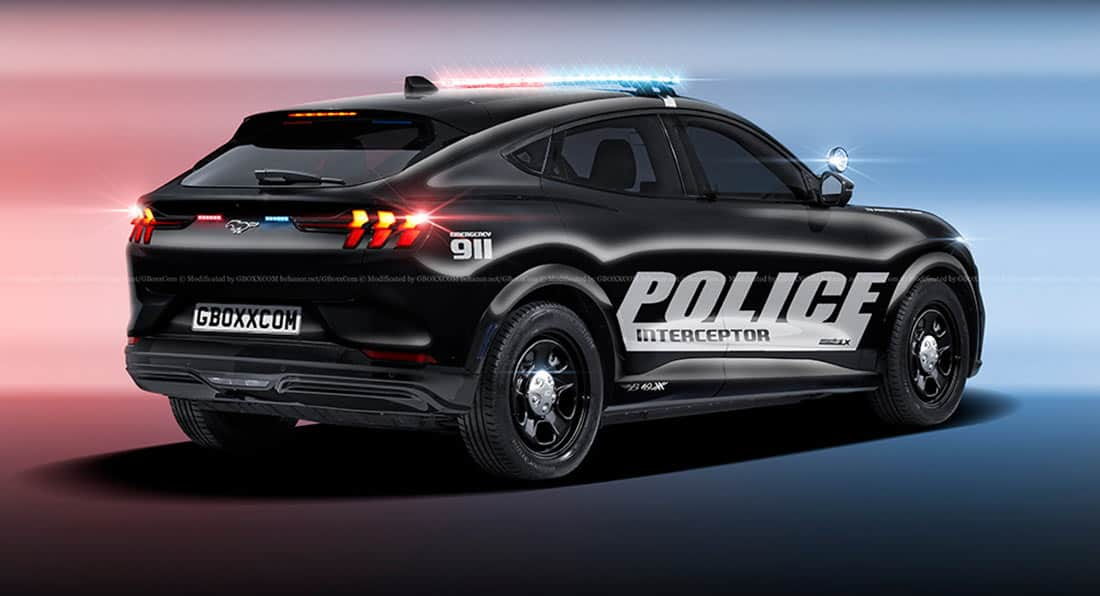 Ann Arbor Police Department To Get Two Ford Mustang Mach-E EVs